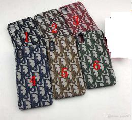 normallack iphone koffer kunststoff Rabatt Fashion Brand Printed Handy-Schutzhülle für iPhone X 6s 7 8 Plus XS XR XS max Xsmax 6.5 113