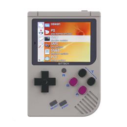 Video caricato online-Video Game Console Nuovo BittBoy - Version3.5 - Retro Game Console giochi portatili Player Progress Save / Load scheda MicroSD esterna T190915