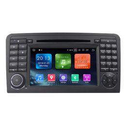 2019 глобальный оптовый трекер Автомобильный DVD-плеер Zhuohan 7 дюймов HD Android для BENZ ML / ML320 / ML350 / W164 с Bluetooth GPS (AD-L7083)