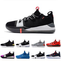 ccbce473475d 2019 Kobe AD EP Mamba Day Sail Multicolor uomo economici scarpe firmate Scarpe  da basket Wolf grigio arancio per Mens Sneaker da ginnastica Sport 40-46