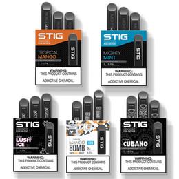 gold ego c Rabatt VGOD STIG Einwegbehälter Vape Pen Kit Vgod Stig Starter Kit Mit 1,2 ml Behältern 270 mAh Voll aufgeladene Batterie E-Zigaretten-Kits Einwegbehälter