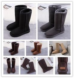 VTOTA Winter Stiefel Frauen Pelz Plüsch Ankle Stiefel