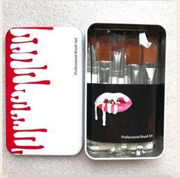 hacer caja de madera Rebajas Maquillaje Herramientas mango de madera Pinceles de Maquillaje Set Powder Foundation Sombra de Ojos Cejas Pinceles Kits de Cepillos Con Caja de Pinceles 12 Unids / set CZ243