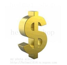 Frais supplémentaires justes pour le solde de la commande Personnaliser Personnaliser Produit Personnalisé Payer Extra Argent 1 Pièce = 1USD Livraison Gratuite Rapide ? partir de fabricateur