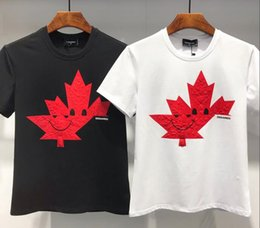 Canada 2018 Luxurys Brands D2 Canada Designers Hommes Sweats à Capuche T-Shirt DSQ03 Italie Mode Casual Automne Hiver Sweat-shirt Hip-Hop Manches Longues DS2 cheap casual hoodie t shirt Offre