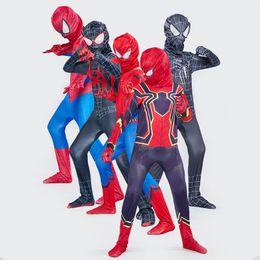 DANNEL Unisex Halloween Costume Miles Morales Cosplay Bodysuit