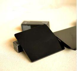 VIP Limited Geschenk zarten Laser Buchstaben schwarz Acryl Untersetzer hohe Helligkeit Wärmedämmung Tasse Pad Kaffeetasse Matte von Fabrikanten