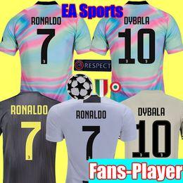 cheap for discount 83c6e 74d74 JUVENTUS Fans Spielerversion Thailand 2019 RONALDO Fußball-Trikots 18 19  MANDZUKIC JUVE DYBALA HIGUAIN Fußball-Sets rabatt sport-kits