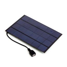 2019 carregador solar banco laptop Carregador do painel solar da saída de SW4205U 4.2W 6V USB mono para o banco do poder desconto carregador solar banco laptop