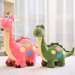 2019 brinquedos de dinossauro rosa Dinossauro rosa Stuffed Animal Brinquedo de pelúcia Stuffe Dinosaur Stuffed Toys Lovely brinquedos de dinossauro rosa barato
