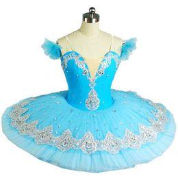 Argentina ¡Pop !! Niza Pop Niños Tutus Ballet Profesional Ballet Azul Ropa de Baile Adulto Chica Puff Falda Traje Tutu Falda Mujeres Suministro