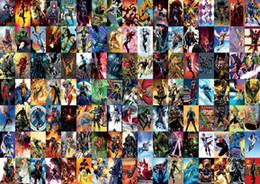 stampe d'arte meravigliose Sconti Marvel Comic Super Hero Collage Art Silk Stampa Poster 24x36 pollice (60x90cm) 015