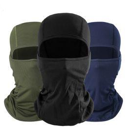 schwarzer taktischer helm Rabatt Camo Tactical Bandanas militar MultiCam Schwarz Balaclava Helm Liner Atmungsaktive Paintball Gesichtsmaske Fahrradhut männer