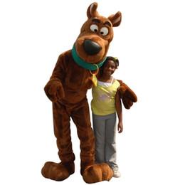 Yeni Scooby Doo Köpek Maskot Kostüm Yetişkin Boyutu Fantezi Elbise Noel nereden