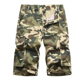 141ce6065f US Size New Camouflage Loose Cargo Shorts Men Cool Summer Camo Short Pants  Homme Cargo Shorts