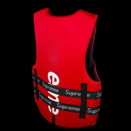 Vestito di protezione per adulti online-Estate del gilet di protezione del giubbotto di salvataggio di galleggiamento del giubbotto di salvataggio e della boa di estate per il nuoto che trasporta rafting che pratica il surfing per sicurezza