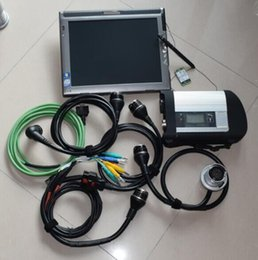 laptop automotivo Desconto Automotive ferramenta de diagnóstico reparação MB Estrela C4 SD Ligação C4 compacto + 480GB software ssd no laptop LE1700