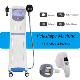 Máquina de rodillos de grasa online-Las máquinas de pérdida de grasa de masaje con rodillo de vacío Velashape Vela Shape Body Slimming Machine equipado con video entrenamiento