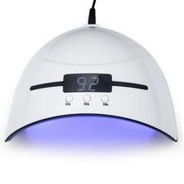 2019 configuración de la secadora LKE 36W Secador de Uñas LED UV para Lámpara Micro USB Nail Gel Máquina de Curado Polaco Para Uso Doméstico Uñas Arte Herramientas Lámparas