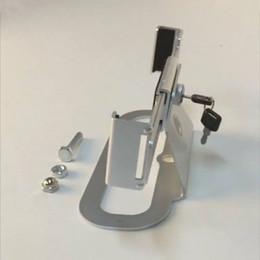 escolha a ferramenta renault Desconto (10 pçs / lote) cor prateada corpo de alumínio completo ajustável braços braçadeira parafuso fixo chave de segurança titular suporte para laptop pc