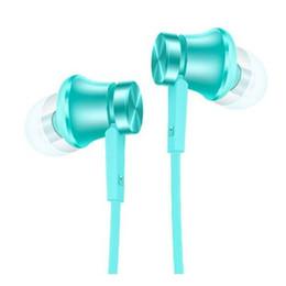 Mi xiaomi auricolari online-Cuffie con auricolari in turchese Xiaomi Mi Earphone Piston Basic Edition