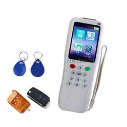 2019 decodificador de bloqueio inteligente Copiadora RFID e 300-900MHZ fixo / rolamento Auto Copiadora Remota / controle remoto duplicador