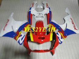 1996 honda cbr body kit online-Kit de cuerpo de carenado de motocicleta personalizado para Honda CBR900RR 893 96 97 CBR 900RR CBR900 RR 1996 1997 Rojo rojo Carenados carrocería + Regalos HX32