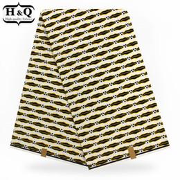 Hollandais Plaid Pattern Tissu Avec 100% Coton Cire Africaine Tissu De Cire Véritable Cire Néerlandaise 6 Yards / lot Pour Robe ? partir de fabricateur