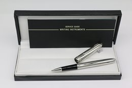 Чистые серебряные ручки онлайн-Высший сорт Msk-MB 163 Roller pen чистое серебро цвет тела металл Монте коллекция ручки канцелярские школа офисная техника с серийным номером pen