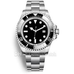 черные часы водолазного дайвера Скидка 43 мм мужские часы дайвер плавать черный керамический безель reloj de lujo механические автоматические наручные часы мужчины роскошные часы скольжения замок Застежка ремешок