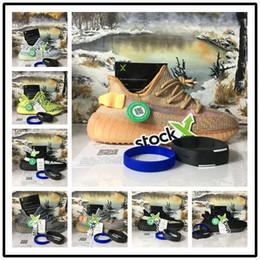 con scarpe sportive riflettenti statiche per uomo riflettente in pizzo X 2019 Designer shoes Adidas yeezy boost antiscivolo scarpe sportive da uomo argilla Hyperspace True Form da