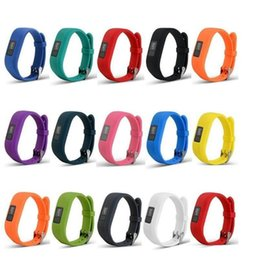 bande di ricambio garmin vivofit Sconti 2019 Nuovo cinturino per cinturino da polso in silicone morbido di ricambio per Garmin Vivofit3 Vivofit 3 Smart Watch