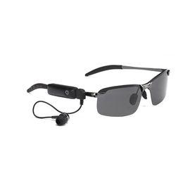 Yeni Güneş Gözlüğü Kulaklık Akıllı Gözlük Giymek Kablosuz Bluetooth Kulaklık Handsfree Kulaklık iOS Android Telefon için Uygulanabilir Tüm Cep Telefonları cheap handsfree phones nereden ahizesiz telefonlar tedarikçiler