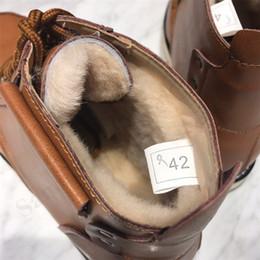 fleece winter stiefel frauen Rabatt Damen Herren Schuhe Australien UG Marke Martens Stiefel aus echtem Leder Stiefeletten Winter warm dicke Fleece-Wolle-Pelz-Wasserdichte Schnee-Aufladungen C101601