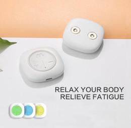 Hot Mooyee S1 equipo inteligente de masaje alivio del dolor cervical brazo del muslo decenas relajantes EMS masaje inalámbrico Sauna Patc massager desde fabricantes