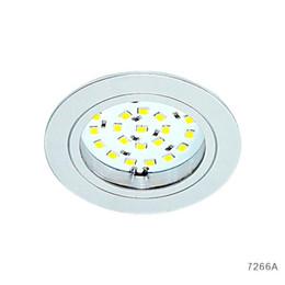 Vente chaude SMD 2835 entrée 12V CC 2.2W LED Puck Cabinet Lumière ? partir de fabricateur