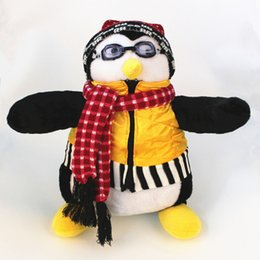 "boneca de borracha rosa Desconto Amigos sérios Amigo de Joey Hugsy Plush Pinguim Rachel Stuffed Doll Para Presente de Aniversário 18 ""40 cm J190506"
