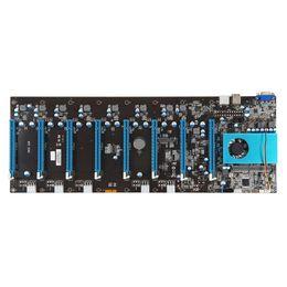 Canada ETH Ethereum carte mère 8 PCIE 16x Support 8 graphiques CARDS 8 GPU Intel 6ème génération Celeron 3855 Skylake CPU Offre