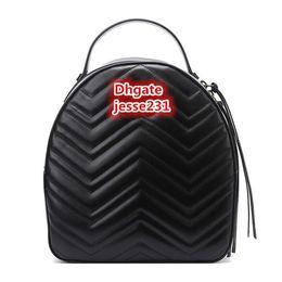 Deutschland Hochwertige Mode Luxus Designer Marmont Pu Leder Mini Frauen Tasche Kinder Schultaschen Rucksack Berühmte Dame Rucksack Tasche Reisetasche Versorgung