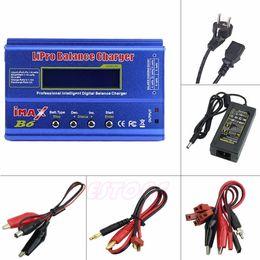 2019 cargador lipo b6 F98 Eu Enchufe Para Imax B6 Ac Lipo Nimh Li-ion Ni-cd Rc Cargador de equilibrio de batería descargador J190427 cargador lipo b6 baratos