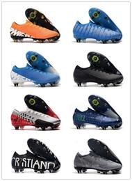 2019 scarpe da uomo di calcio Mercurial 13 Elite SG PRO tacchetti da calcio ACCR7 Ronaldo FG Mercurial Superfly VI 360 scarpe da calcio all aperto