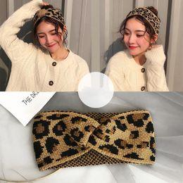 M mismo Mulheres leopardo Headband Para Meninas Headbands Acessórios de cabelo Faixa de Cabelo Casual atado de Fornecedores de coroa de quartzo
