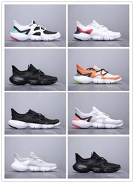 2019 casual scarpe tessute mens Vendita calda Mens FREE RN 5.0 Running Shoes Uomo Classic Weaving Light RN 50 Outdoor Jogging Casual Sports Sneakers Mens Designer Trainers casual scarpe tessute mens economici