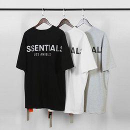 2019 neuheit muskelhemden Furcht Gott Nebel Essentials-Mann-T-Shirts Sommer-T-Shirt Männer Buchstabedrucken kurze Hülsen-beiläufige Baumwolle Tops Tees