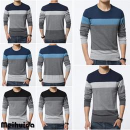 2019 nueva fábrica de jersey 2019 nuevos hombres cuello redondo casual moda suéter de punto suéter prendas de punto Jumper Coat Top Coat Factory envío gratis nueva fábrica de jersey baratos