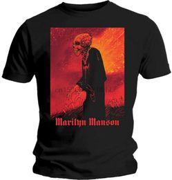 marilyn manson Rebajas Camiseta Marilyn Manson Mad Monk - ¡NUEVA!