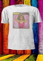 rihanna make-up Rabatt Retro 80er Album Cover Rihanna Bye Musik Hallo Makeup Männer Frauen Unisex-T-Shirt 2844