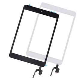 Ipad home flex online-10pcs táctil Panel reemplazo para el iPad Mini 3 pantalla táctil digitalizador Asamblea dirigen el botón Inicio Flex Cable + Conector IC