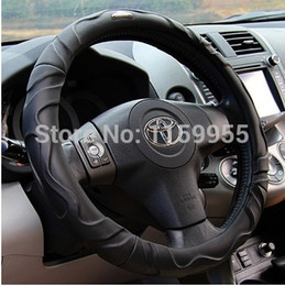 volante x5 Desconto Tampa do volante do carro de alta qualidade 520li X5 A6L A3 A5 A7 A8 X6 x1 X3 Volantes Couro Pele de carneiro