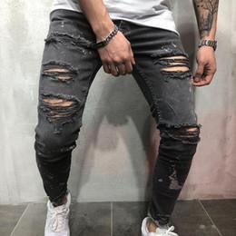 18f884f985 Sconto Jeans Grigio Scuro Per Gli Uomini | 2019 Jeans Grigio Scuro ...